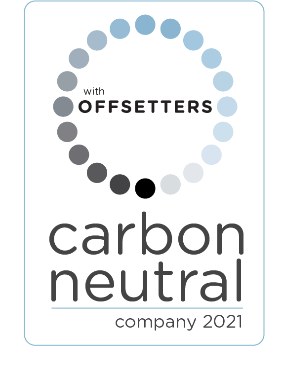 11Offsetters carbon neutral company 2021 logo